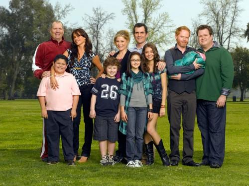 Foto de Divulgação do seriado norte americano Modern Family