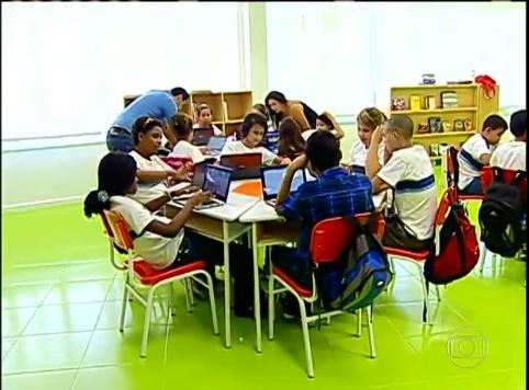 Tecnologia invade sala de aula