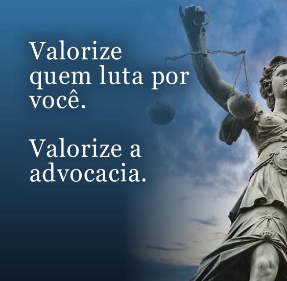 Valorize a advocacia