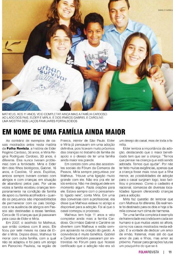Matéria Folha Revista