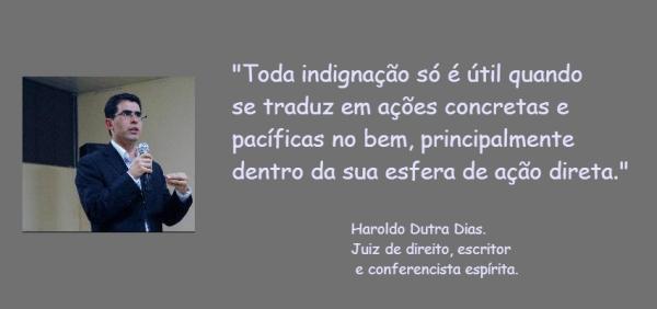 Frase-Haroldo Dutra Dias