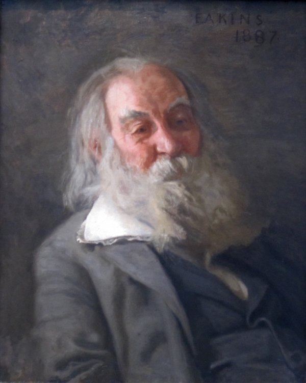 Retrato de Walt Whitman por Thomas Eakins